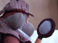 Sherlock Holmes en peluche