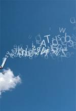 Businessman works over a cloud© alphaspirit -