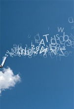 Businessman works over a cloud© alphaspirit -