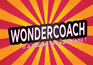 """Affiche """"Wondercoach, il a toutes vos solutions"""""""