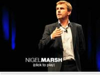 Nigel Marsh TED écologie personnelle