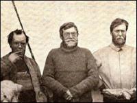 Ernst Shackleton à bord de l'Endurance