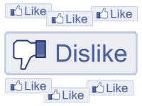 Images Like et Dislike, Facebook