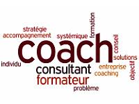 Nuage de mots autour du mot Coach