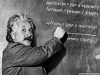 Einstein pose une équation