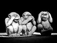 Le déni - façon 3 singes - CC par Anderson Mancini / Flickr