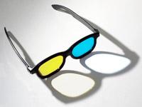 Adaptation : lunettes bleu/jaune - d'après photo source de Matt Neale (Flickr, CC)