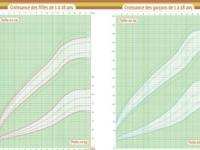 Se comparer : courbes de croissance dans le carnet de santé français