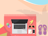 (CC) beach_workspace - Victor Tondee - Flickr