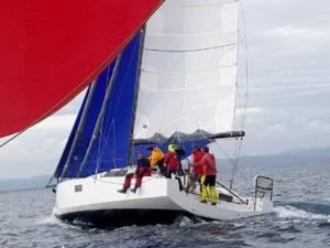 Equipage sur un voilier